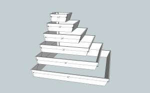 how to cut angle corner in sketchup